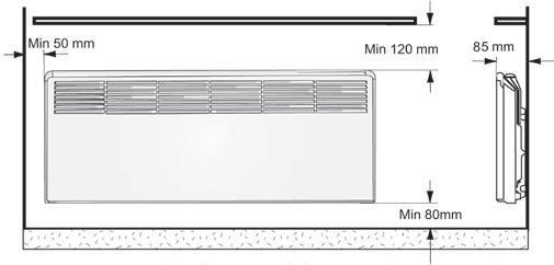 Установка конвекторов Ensto